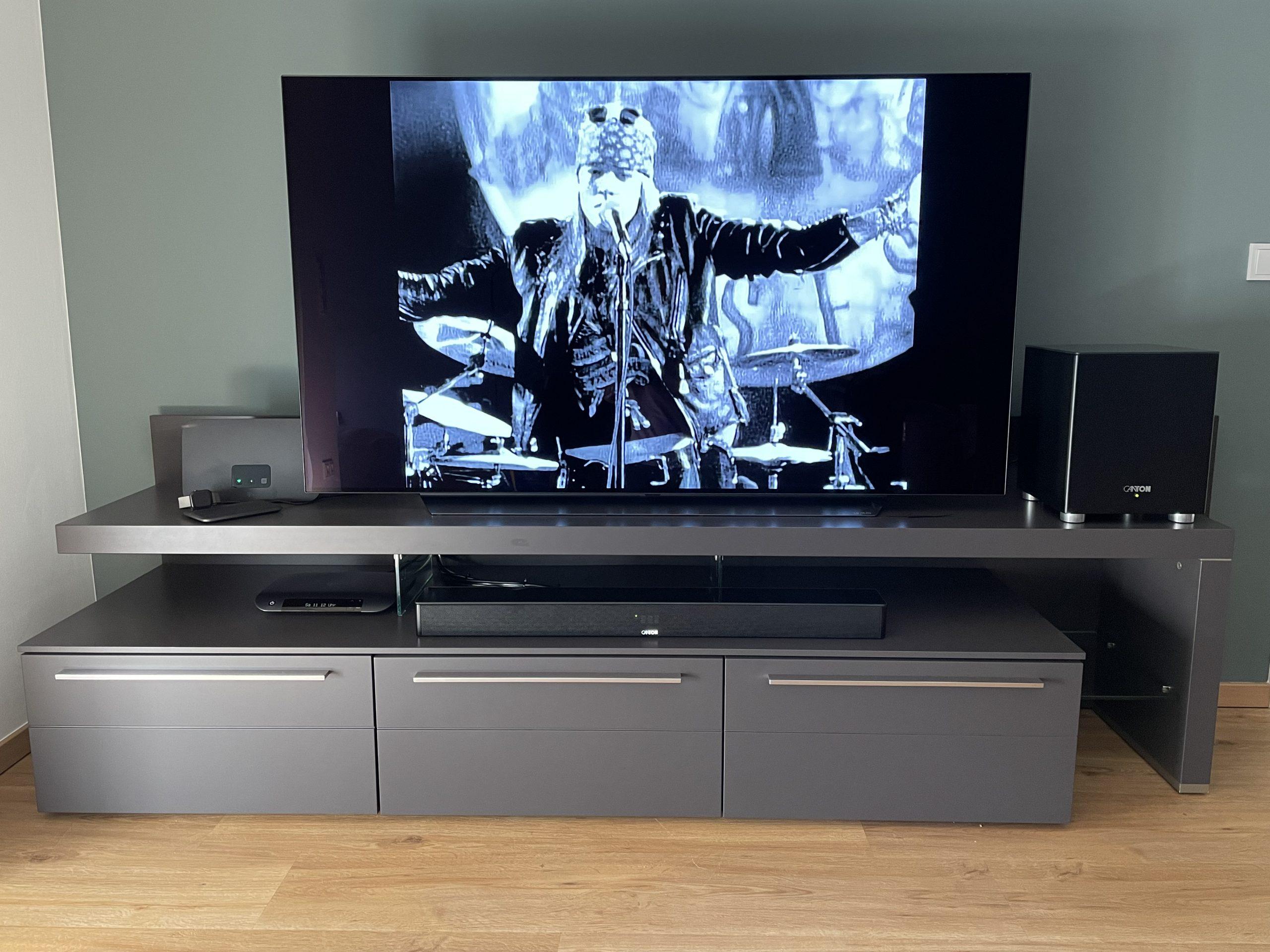 LG OLEDC17 Canton Soundbar 9 Canton Sub